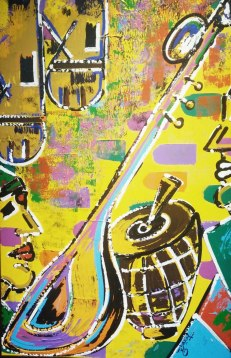Ghazal Alagh Life in Pairs 5 Acrylic on canvas 36x24 Inches 2015 50K