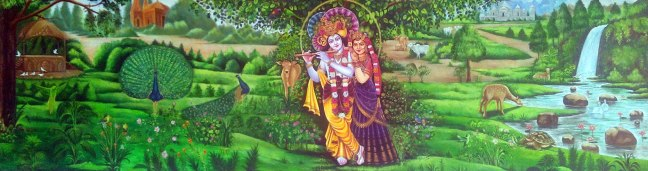 Girija Shanker Krishna Radha in Vrindavan 17 Feet