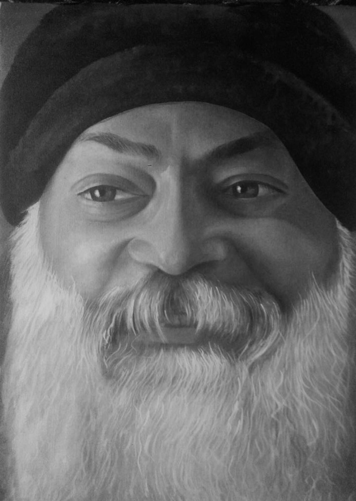 Girija Shanker Osho Oil on Canvas
