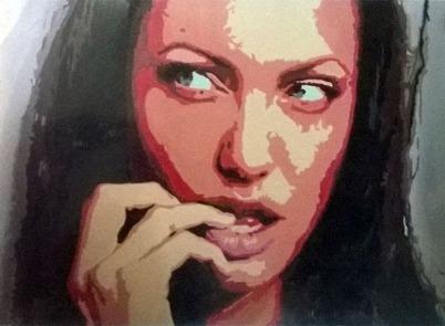 Namrta Singh Portrait Acrylic on Canvas 24 x 36 Inches 25K