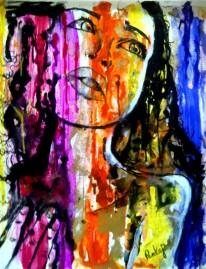 Pankaj Kumar Saxena Striking Acrylic on Canvas 75x55 cms 15K