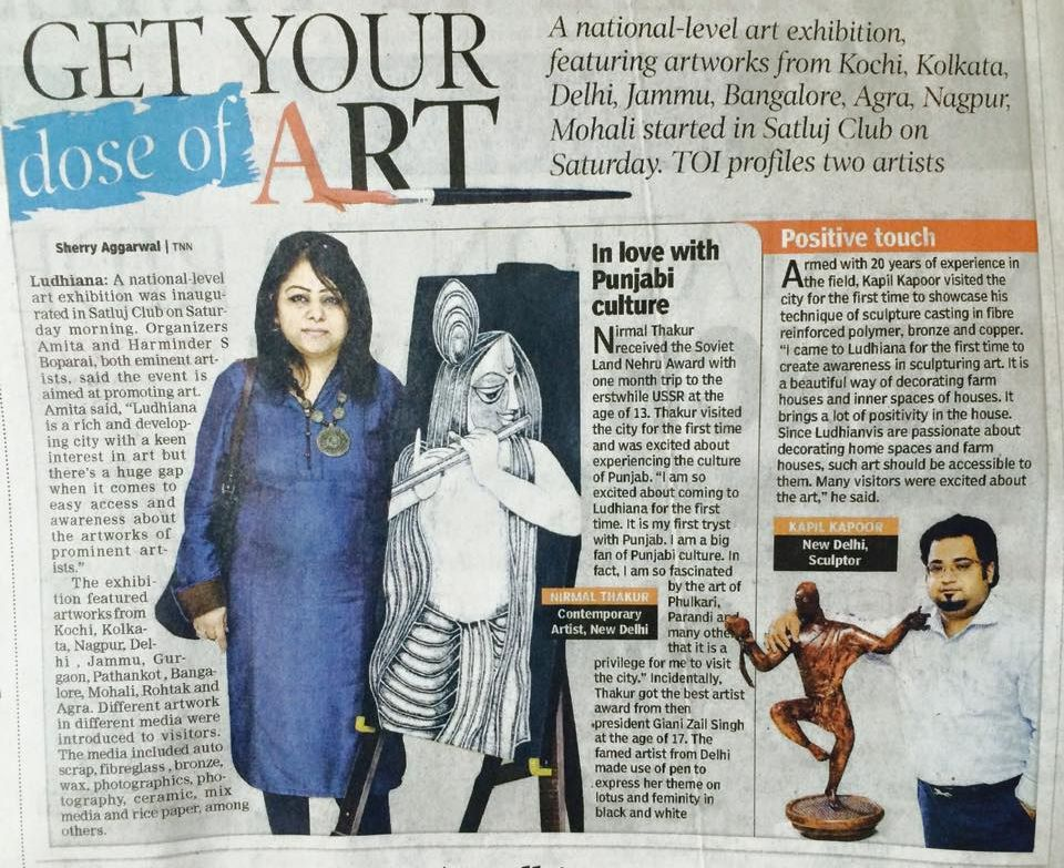 Times of India 2015 April 13