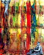 Pankaj Kumar Saxena Enchanter Acrylic on Canvas 60X78 cms