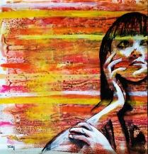 Pankaj Kumar Saxena Feelings Acrylic on Canvas 61X57 cms