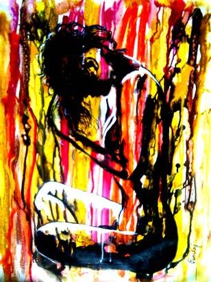 Pankaj Kumar Saxena Presumption Acrylic on Canvas 60X78 cms