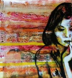 Pankaj Kumar Saxena Sentiments Acrylic on Canvas 60X60 cms