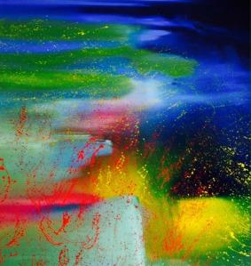 Urvashi Sharma Abstract Acrylic on Canvas 96x108 Inches INR 200000