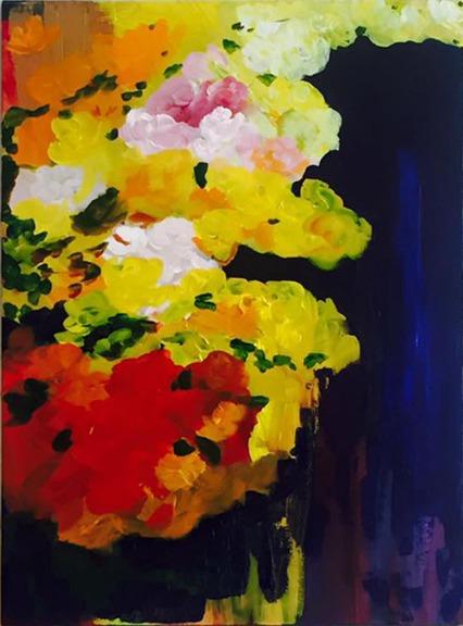 Urvashi Sharma Untitled Acrylic on Canvas Board 18x26 Inches