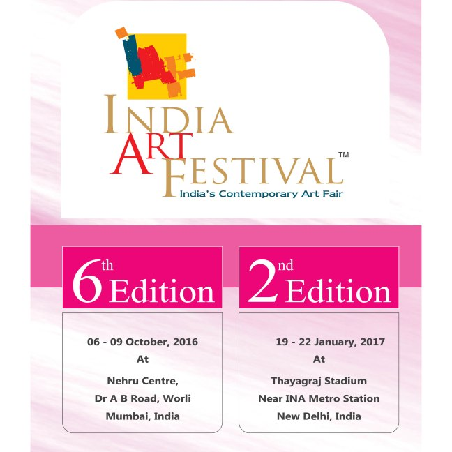 2016 October 6-9 & 2017 January 19-22 India Art Festival