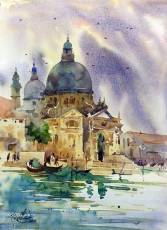 Vikrant Dattatreya Shitole Venice 01 Water Color 10x14 Inches INR 15000
