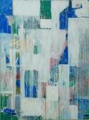 Harpreet Singh I Layers I Acrylics on Canvas I 36x50 Inches I 2006 I 80000/-