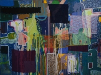 Harpreet Singh I Untitled I Acrylics and Collage on Canvas I 48x36 Inches I 2014 I 65000/-