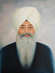 Himani Dawar Divine Love Oil on Canvas 36 x 24 Inches