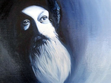 Parimal Arora Never Born Never Died Oil on Canvas 12 x 16 Inches