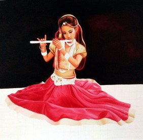 Rajpal Kalia Untitled Oil on Canvas 24 x 18 Inches