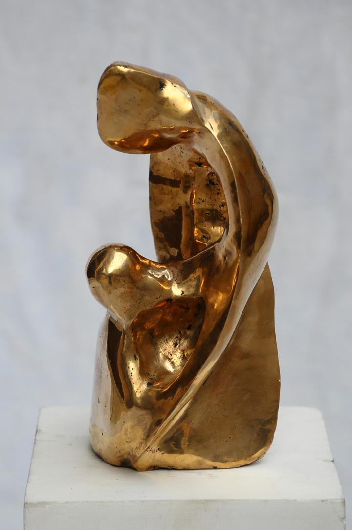 Gurmeet Goldie I Love 14 I Bronze I 8x4x4 Inches INR 30000