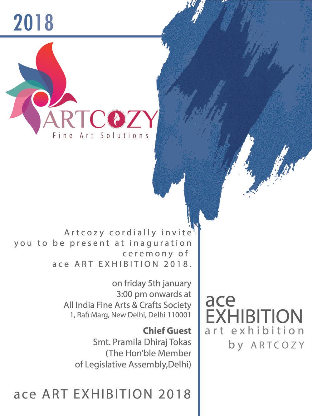ACE Art Exhibition 2018 ARTinfoINDIACOM