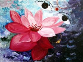 Anjoo Bajaj Goel Untitled Acrylic on Canvas 30x40 Inches