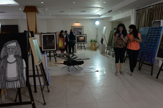 Art Exhibition Art and The City 2015 (30)